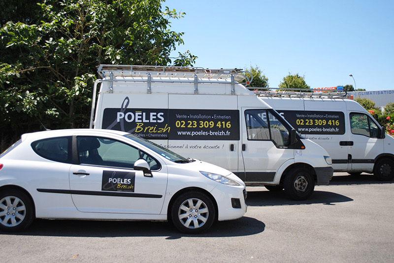 Poêles & Breizh située à Goven